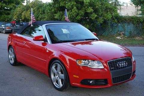 2007 Audi A4 for sale at SUPER DEAL MOTORS in Hollywood FL