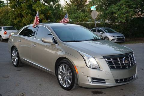 2014 Cadillac XTS for sale at SUPER DEAL MOTORS in Hollywood FL