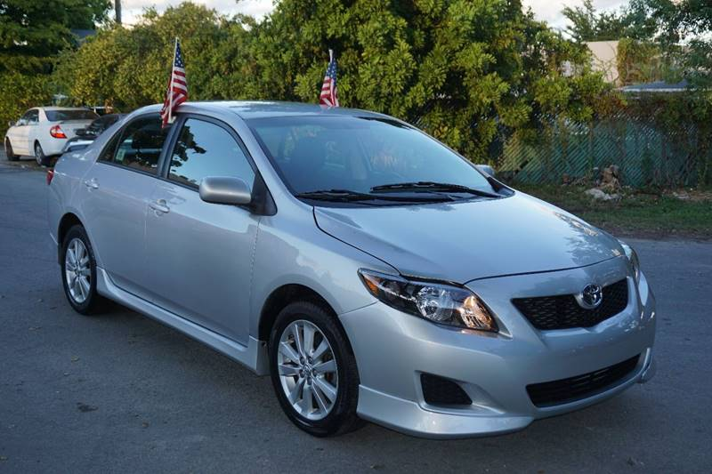 2010 TOYOTA COROLLA S 4DR SEDAN 4A silver  call 866-378-7964 for sales  this 2010 toyota co