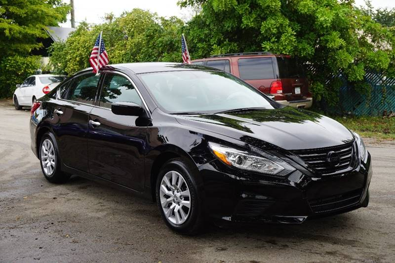 2016 NISSAN ALTIMA 25 S 4DR SEDAN black  call 866-378-7964 for sales  this 2016 nissan alt