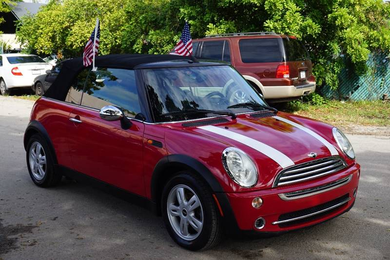 2008 MINI COOPER BASE 2DR CONVERTIBLE red  call 866-378-7964 for sales  this 2008 mini coop