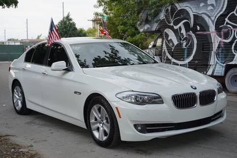 2012 BMW 5 Series for sale at SUPER DEAL MOTORS in Hollywood FL