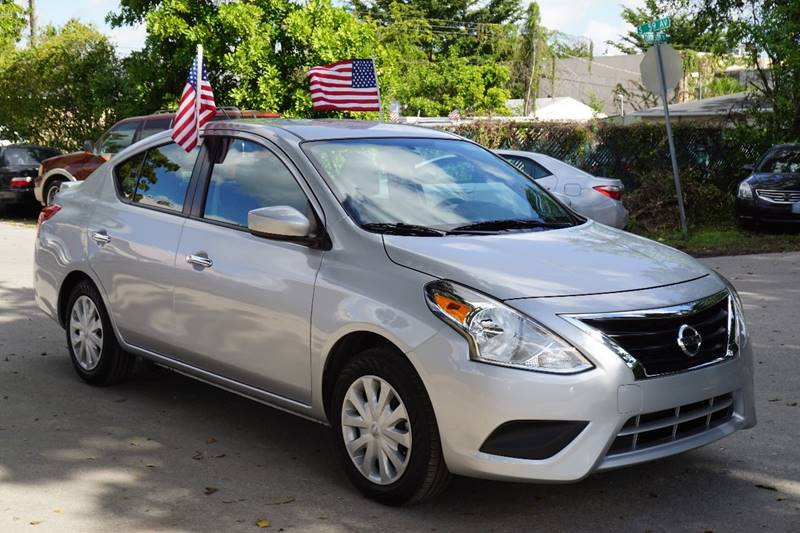 2016 NISSAN VERSA 16 SV 4DR SEDAN silver  call 866-378-7964 for sales  this 2016 nissan ve