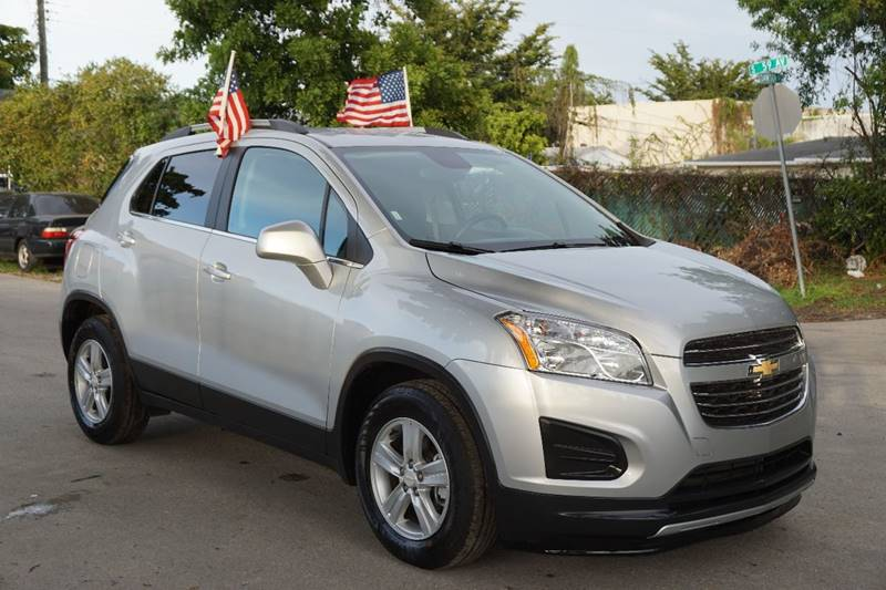 2016 CHEVROLET TRAX LT 4DR CROSSOVER W1LT silver  call 866-378-7964 for sales  this 2016 c