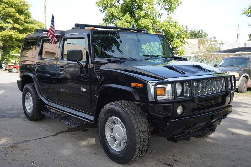 2003 HUMMER H2 LUX SERIES 4DR 4WD SUV black  call 866-378-7964 for sales  this 2003 hummer