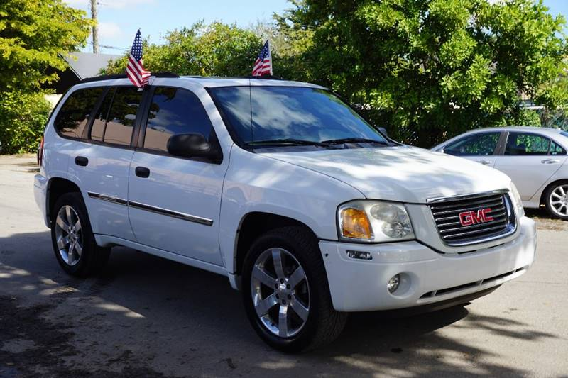2007 GMC ENVOY SLE 4DR SUV white  call 866-378-7964 for sales  this 2007 gmc envoy sle 4dr