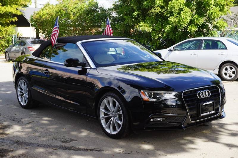 2013 AUDI A5 20T PREMIUM 2DR CONVERTIBLE black  call 866-378-7964 for sales  this 2013 aud
