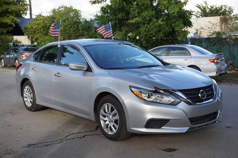 2016 NISSAN ALTIMA 25 S 4DR SEDAN silver  call 866-378-7964 for sales  this 2016 nissan al