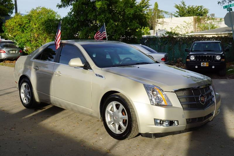 2009 CADILLAC CTS 36L V6 4DR SEDAN W 1SA gold  call 866-378-7964 for sales  this 2009 cad