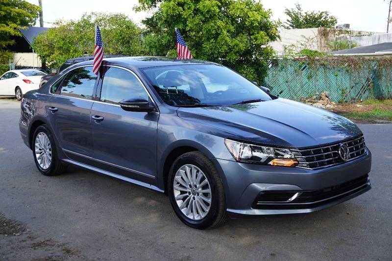 2016 VOLKSWAGEN PASSAT 18T SE PZEV 4DR SEDAN WTECHNOL gray  call 866-378-7964 for sales