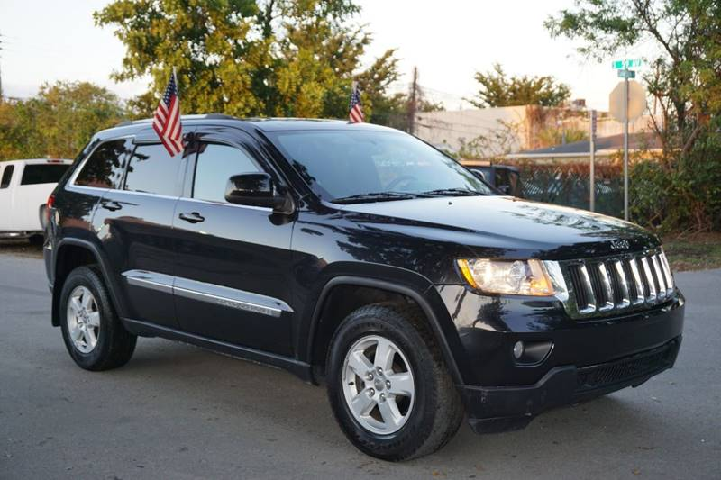 2012 JEEP GRAND CHEROKEE LAREDO 4X4 4DR SUV black  call 866-378-7964 for sales  this 2012 j