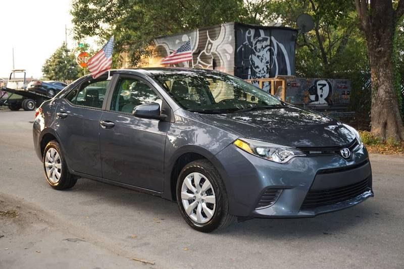 2016 TOYOTA COROLLA LE 4DR SEDAN blue  call 866-378-7964 for sales  this 2016 toyota coroll
