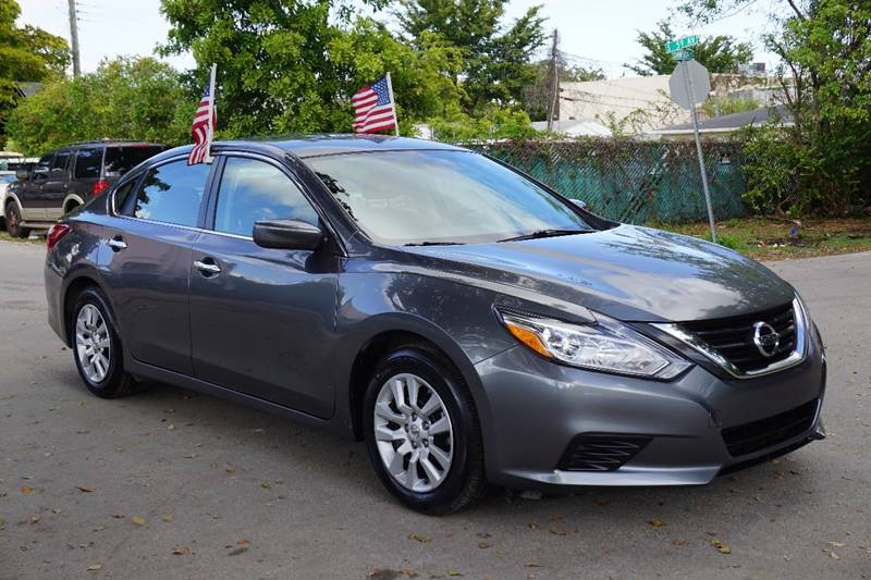 2016 NISSAN ALTIMA 25 S 4DR SEDAN gray  call 866-378-7964 for sales  this 2016 nissan alti