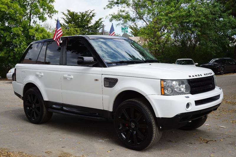 2008 LAND ROVER RANGE ROVER SPORT SUPERCHARGED 4X4 4DR SUV white  call 866-378-7964 for sales