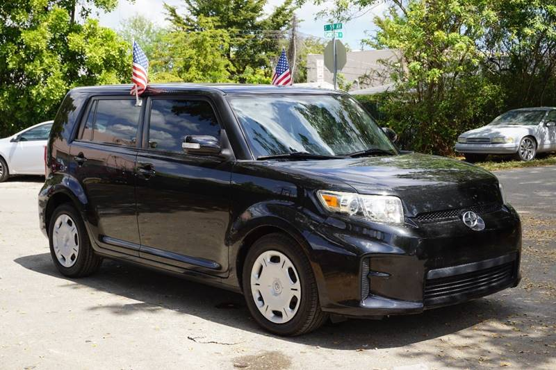 2011 SCION XB BASE 4DR WAGON 4A black  call 866-378-7964 for sales  this 2011 scion xb base