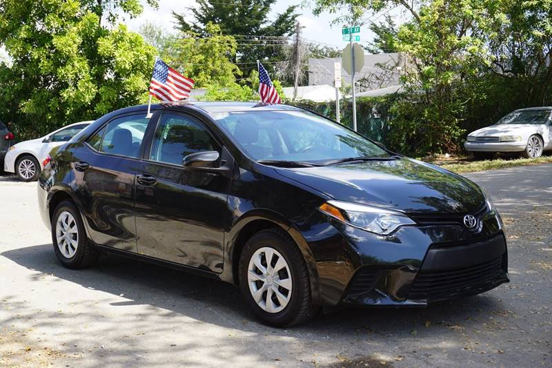 2015 TOYOTA COROLLA LE 4DR SEDAN black  call 866-378-7964 for sales  this 2015 toyota corol