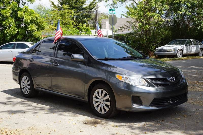 2012 TOYOTA COROLLA LE 4DR SEDAN 4A gray  call 866-378-7964 for sales  this 2012 toyota cor