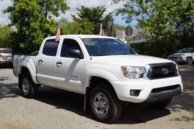 2015 TOYOTA TACOMA PRERUNNER 4X2 4DR DOUBLE CAB 50 white  call 866-378-7964 for sales  thi