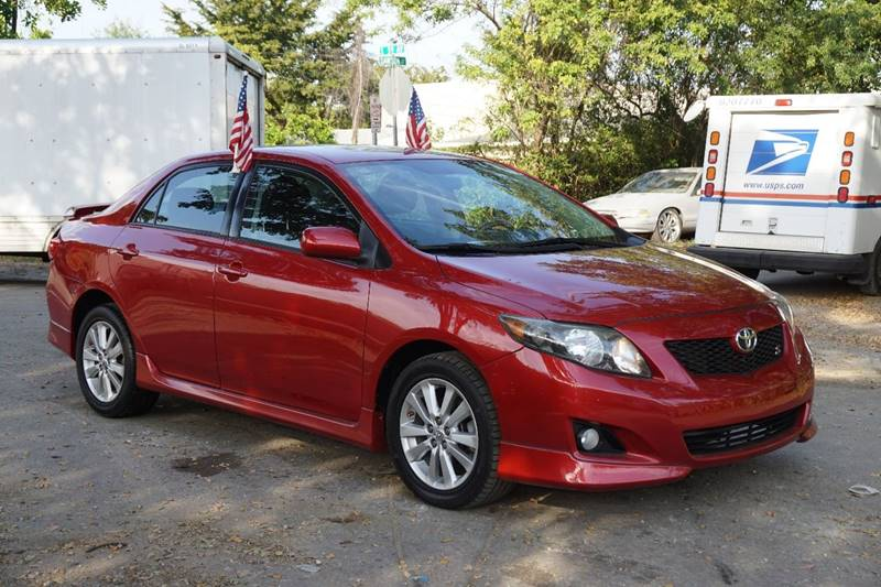 2010 TOYOTA COROLLA S 4DR SEDAN 4A burgundy  call 866-378-7964 for sales  this 2010 toyota