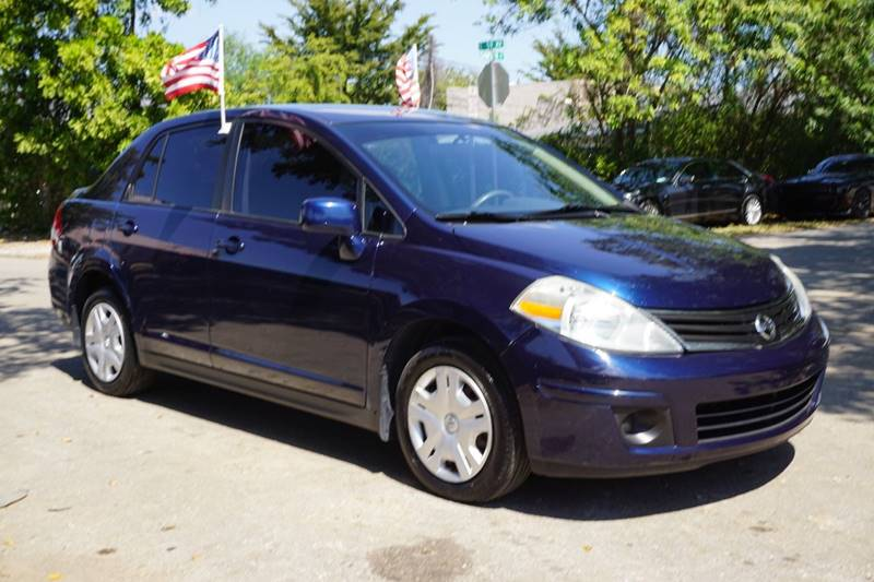 2010 NISSAN VERSA 18 S 4DR SEDAN 4A blue  call 866-378-7964 for sales  this 2010 nissan ve