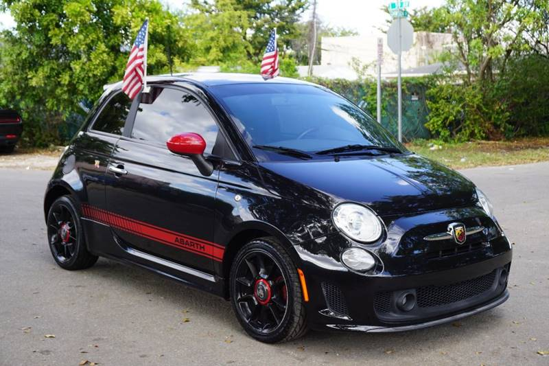 2012 FIAT 500 ABARTH 2DR HATCHBACK black  call 888-218-8442 - 888-218-8442 for sales  this