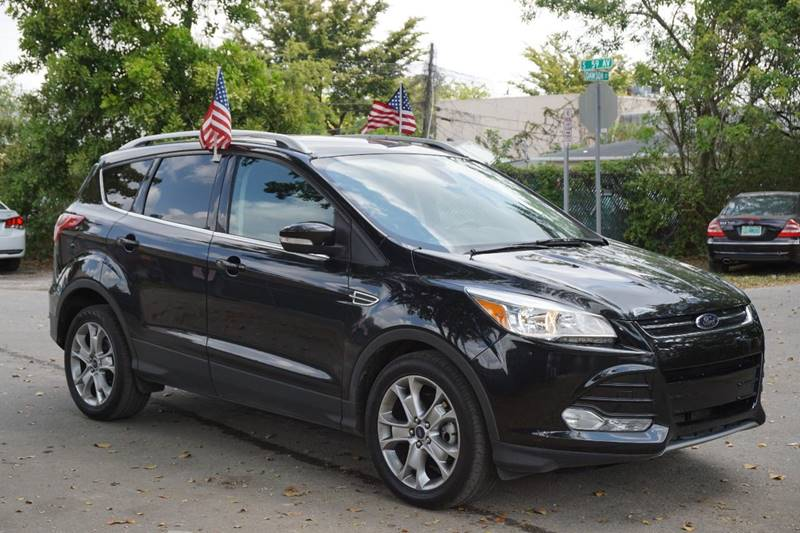 2014 FORD ESCAPE TITANIUM 4DR SUV black  call 888-218-8442 - 888-218-8442 for sales  this 2