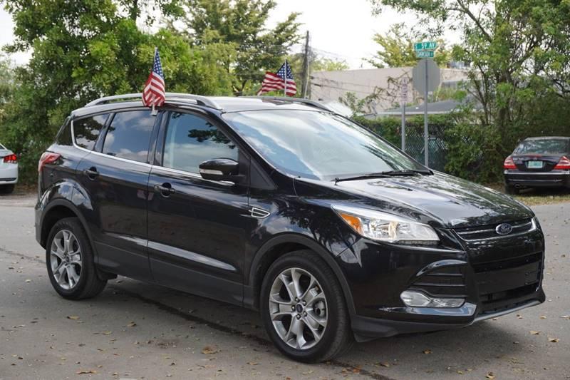 2014 FORD ESCAPE TITANIUM 4DR SUV black  call 888-218-8442 - 888-218-8442 for sales  this 2