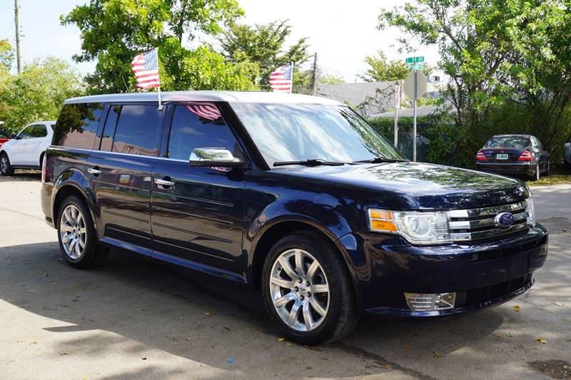 2012 FORD FLEX TITANIUM 4DR CROSSOVER blue  call 866-378-7964 for sales  this 2012 ford fle
