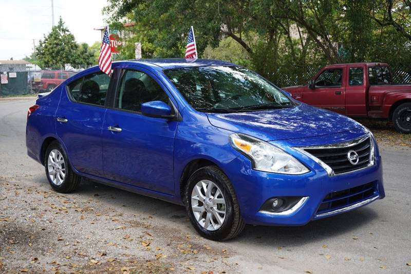 2016 NISSAN VERSA 16 SV 4DR SEDAN blue  call 888-218-8442 - 888-218-8442 for sales  this 2