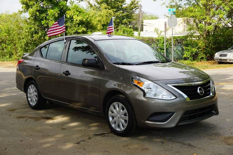 2015 NISSAN VERSA 16 S 4DR SEDAN 4A brown  call 866-378-7964 for sales  this 2015 nissan v