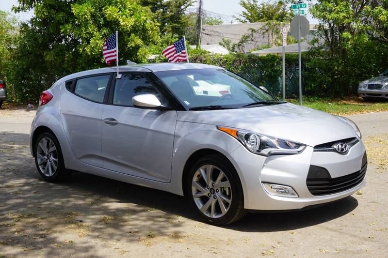 2017 HYUNDAI VELOSTER BASE 3DR COUPE DCT WBLACK SEATS silver  call 866-378-7964 for sales