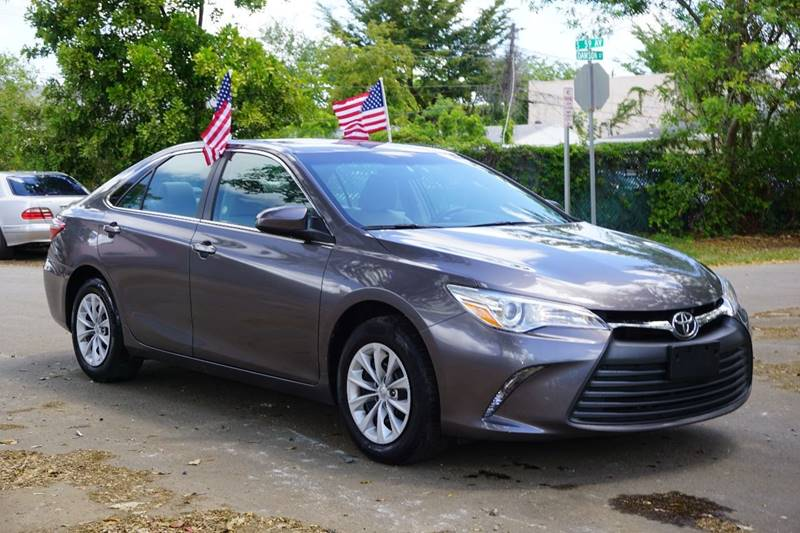 2015 TOYOTA CAMRY LE 4DR SEDAN gray  call 866-378-7964 for sales  this 2015 toyota camry le