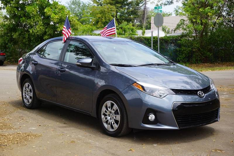 2016 TOYOTA COROLLA S 4DR SEDAN blue  call 866-378-7964 for sales  this 2016 toyota corolla