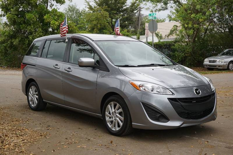 2012 MAZDA MAZDA5 SPORT 4DR MINI VAN 5A gray  call 866-378-7964 for sales  this 2012 mazda