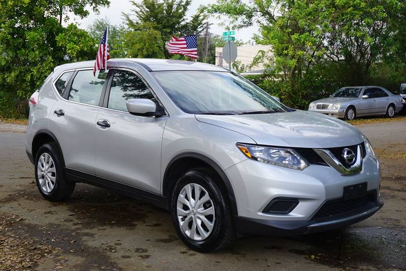2016 NISSAN ROGUE S AWD 4DR CROSSOVER silver  call 888-218-8442 - 888-218-8442 for sales  t