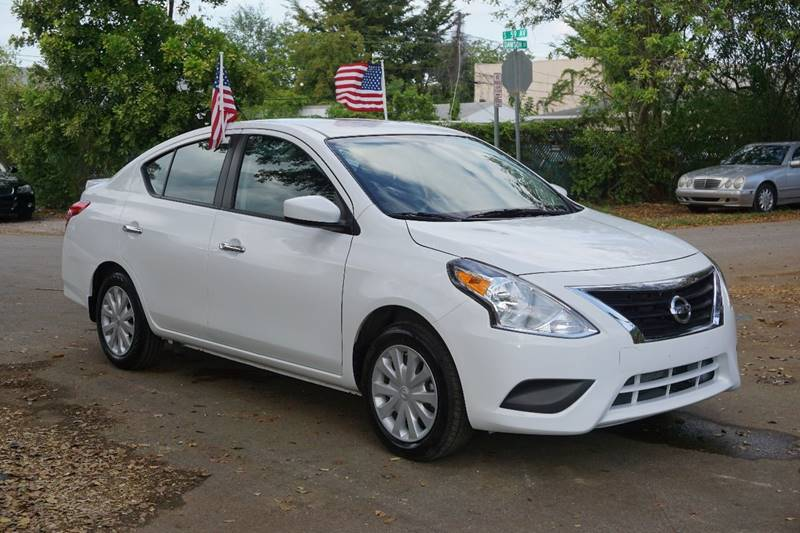 2016 NISSAN VERSA 16 SV 4DR SEDAN white  call 866-378-7964 for sales  this 2016 nissan ver