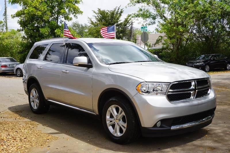 2012 DODGE DURANGO CREW LUX 4DR SUV silver  call 866-378-7964 for sales  this 2012 dodge du