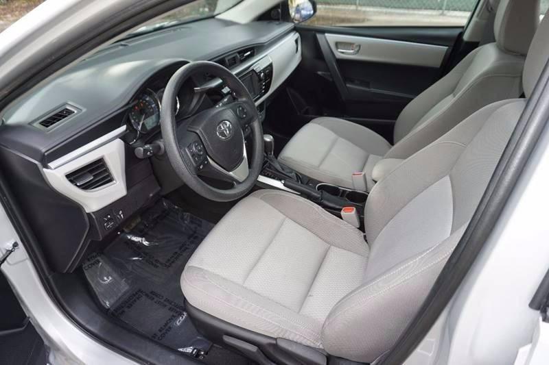 2015 Toyota Corolla LE 4dr Sedan - Hollywood FL