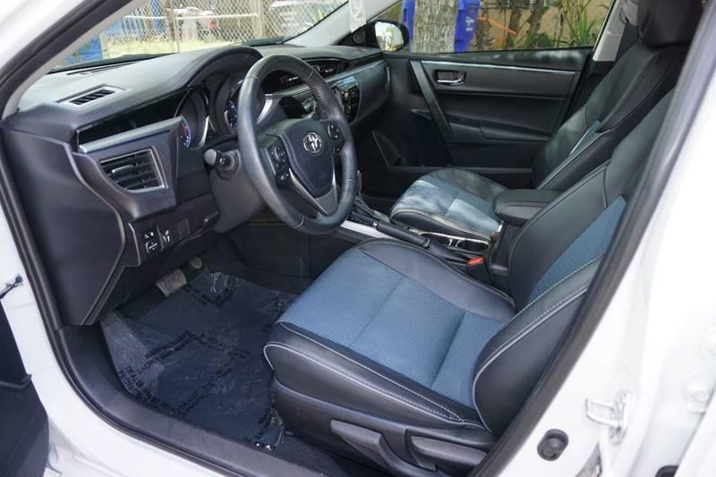 2015 Toyota Corolla S 4dr Sedan - Hollywood FL