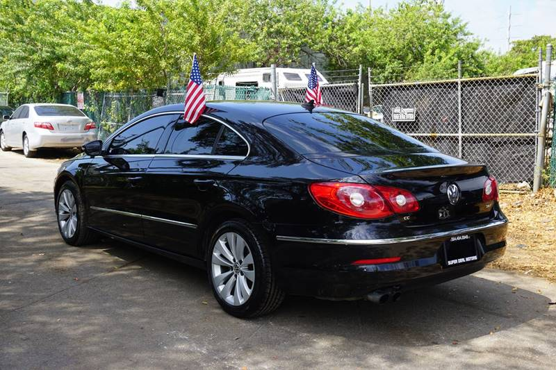 2012 Volkswagen CC Sport 4dr Sedan 6A - Hollywood FL