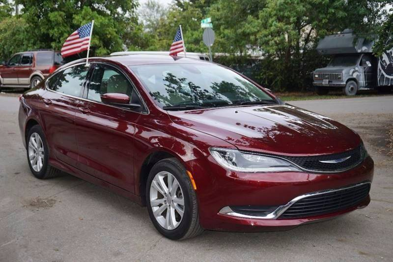 2016 CHRYSLER 200 LIMITED 4DR SEDAN burgundy  call 866-378-7964 for sales  this 2016 chrysl