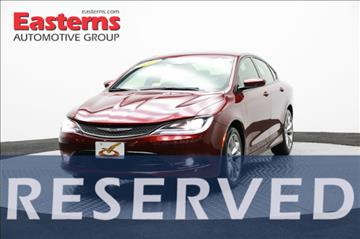 2015 Chrysler 200 for sale in Hyattsville, MD