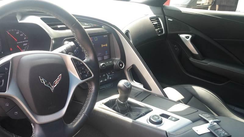 2015 Chevrolet Corvette Stingray 2dr Coupe w/1LT - Ridgeley WV