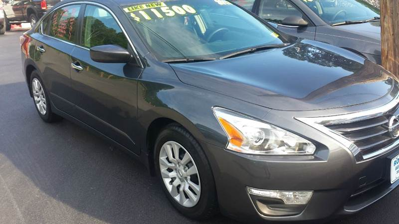 2013 Nissan Altima for sale at Route 28 Auto Sales in Ridgeley WV