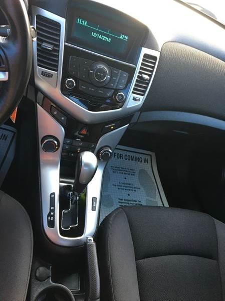 2014 Chevrolet Cruze 1LT Auto 4dr Sedan w/1SD - Ridgeley WV