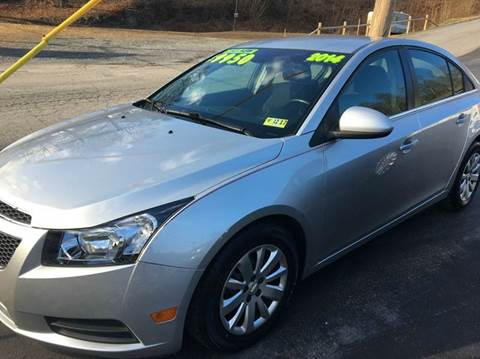 2014 Chevrolet Cruze for sale at Route 28 Auto Sales in Ridgeley WV