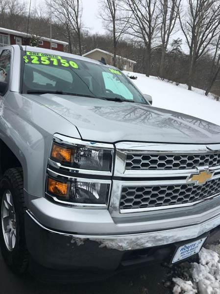 2015 Chevrolet Silverado 1500 for sale at Route 28 Auto Sales in Ridgeley WV