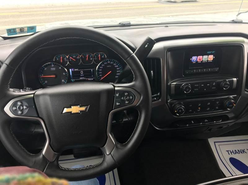 2015 Chevrolet Silverado 1500 4x4 LT 4dr Double Cab 6.5 ft. SB - Ridgeley WV