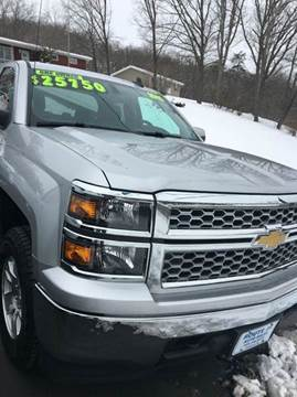 2015 Chevrolet Silverado 1500 for sale at Route 28 Auto Sales in Ridgeley WV