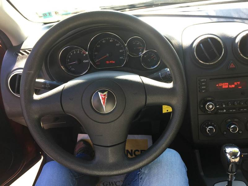 2009 Pontiac G6 4dr Sedan w/1SA - Ridgeley WV